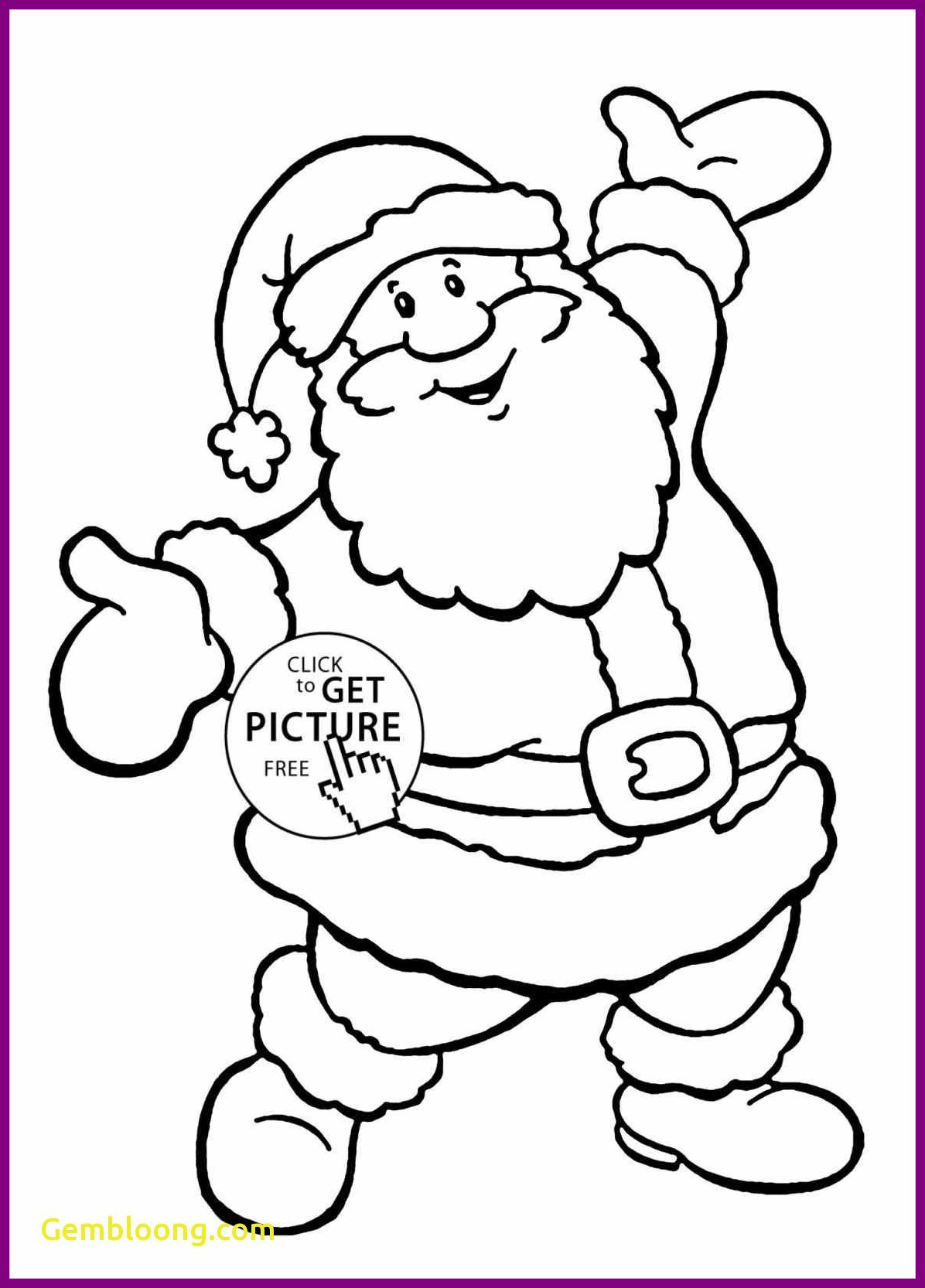 Santa And Rudolph Coloring Pages at GetDrawings | Free ...