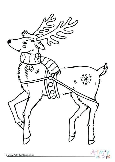 460x651 Santa Sleigh Coloring Page Sleigh Coloring Page Santa And His