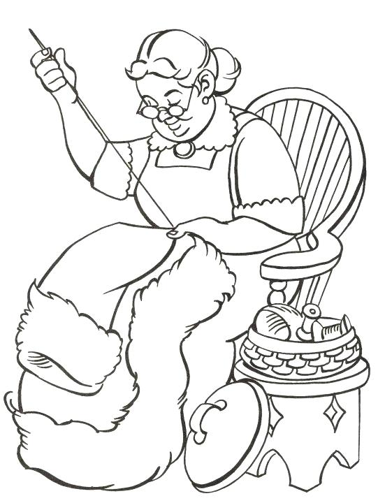 541x720 Mrs Claus Coloring Pages Suit Coloring Pages Free Printable