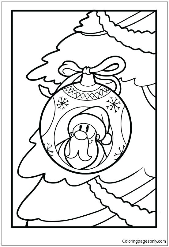 552x804 Santa Claus Coloring Pages Free Printable For Kids Travelsonline