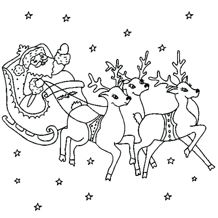 858x858 Coloring Picture Of Santa Coloring Pages To Print Kids Coloring