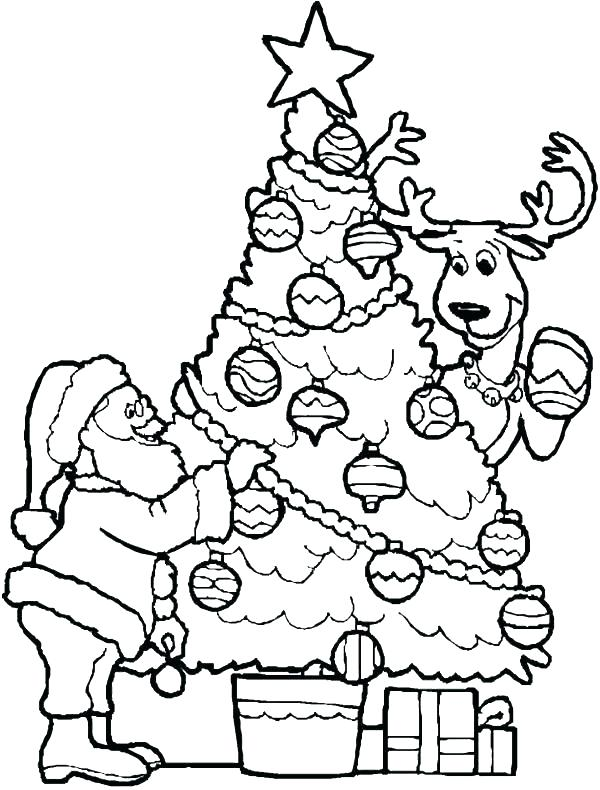 600x790 Santa Claus Coloring Page Coloring Pages Coloring Page Detail Tree