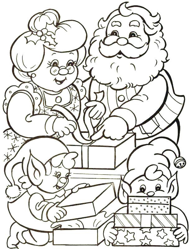 621x800 Santa Claus Coloring Pages Inspirational Santa Claus Coloring