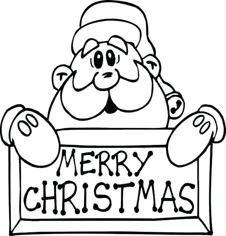 750x783 Santa Claus Coloring Pictures