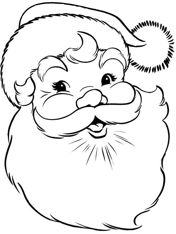 584x778 Santa Claus Coloring Pages Santa Claus Let's Color
