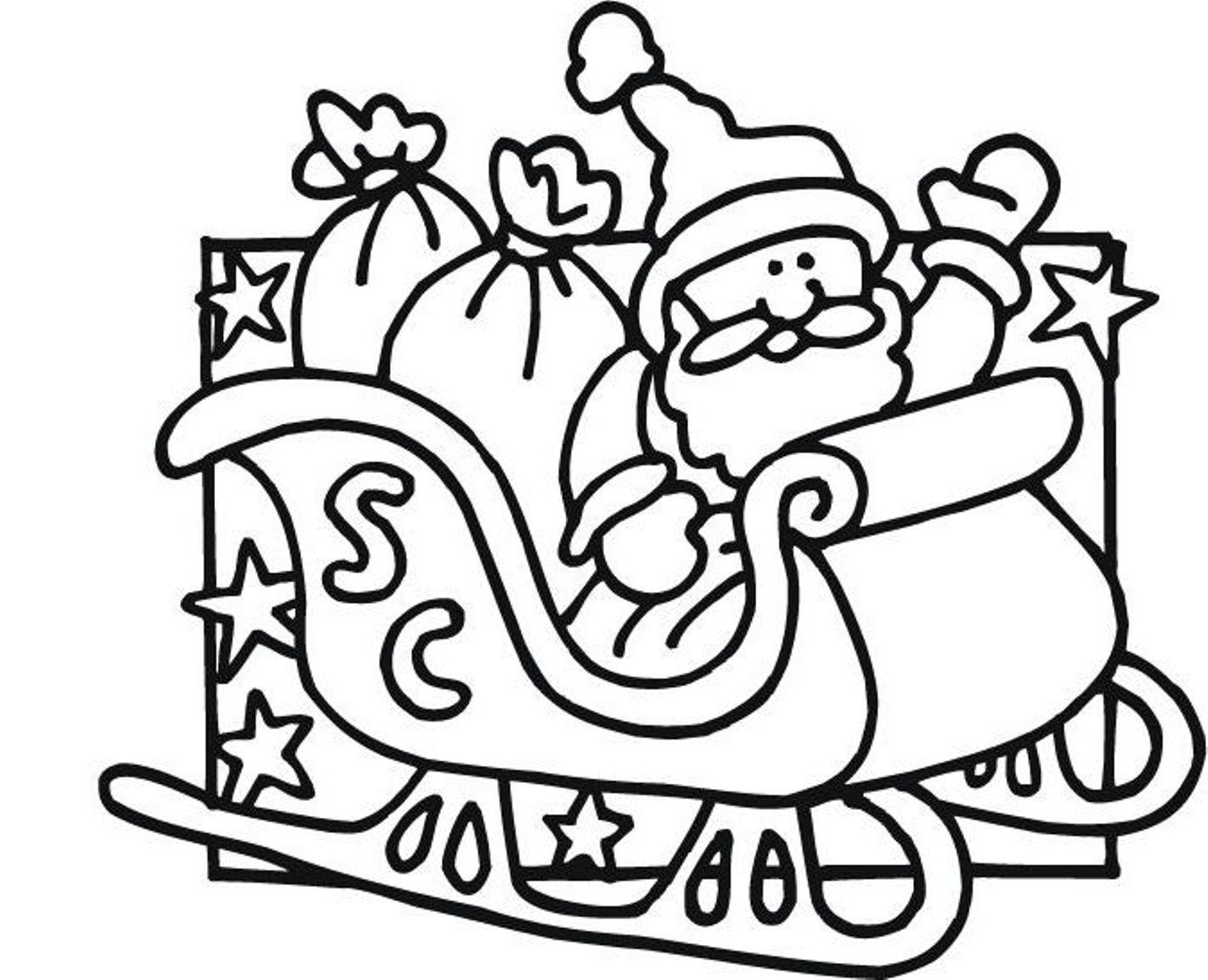 1422x1154 Santa Claus Coloring Pages Printable