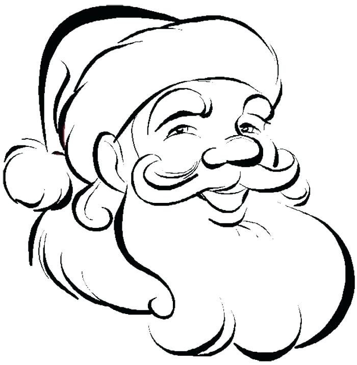 700x716 Santa Claus Coloring Page Printable Coloring Pages Santa Claus