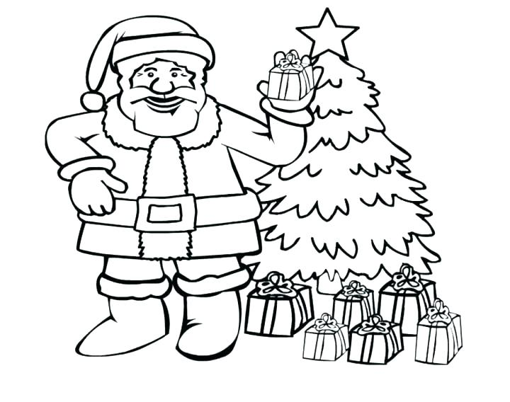 720x568 Santa Claus Coloring Pages Free Printables Luxury Coloring Pages