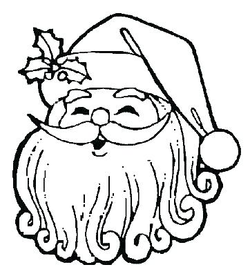 362x400 Santa Claus Sleigh Colouring Pages Coloring
