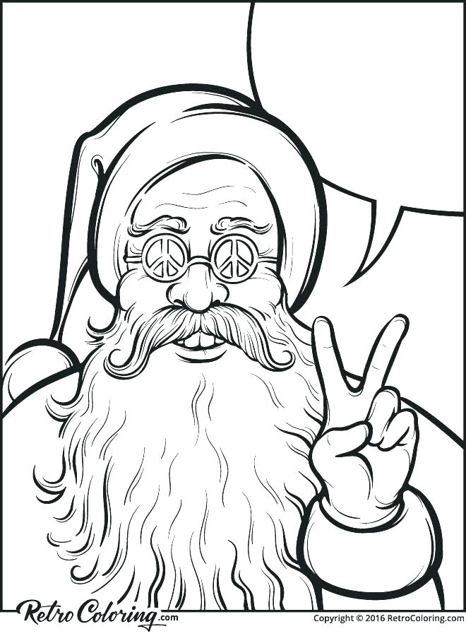 660x900 Santa Clause Coloring Pages Santa Claus Mask Coloring Pages