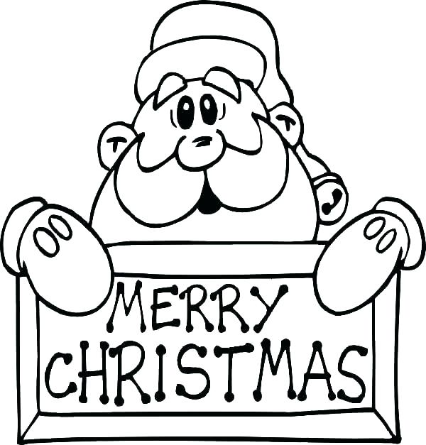 600x627 Santa Clause Coloring Sheet Able Santa Claus Coloring Pages Online