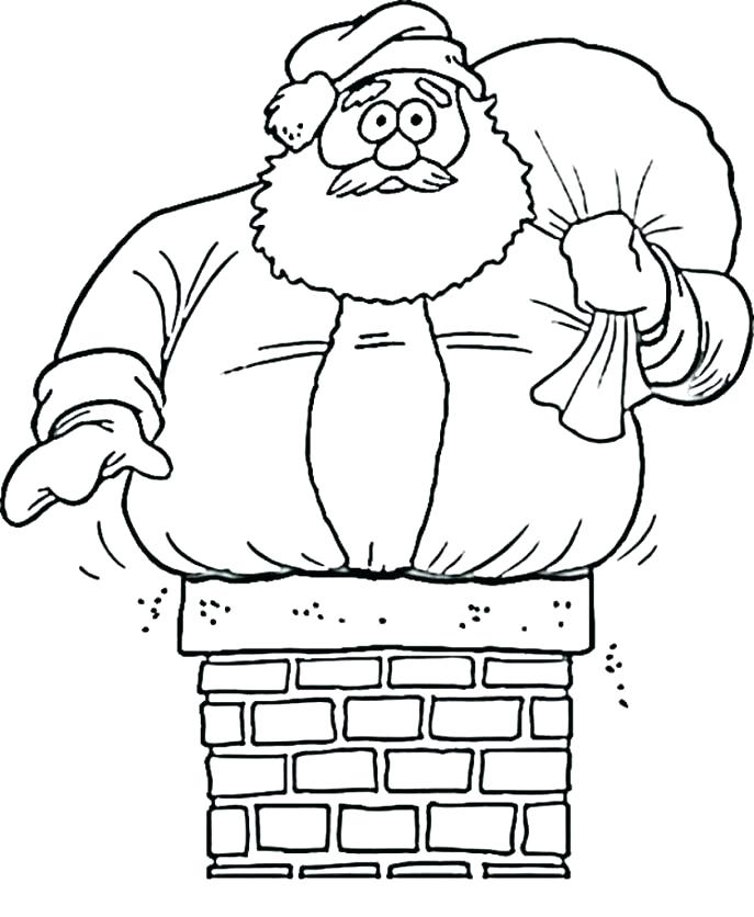 687x836 Santa Coloring Page Coloring Pages Coloring Page Of Coloring Book