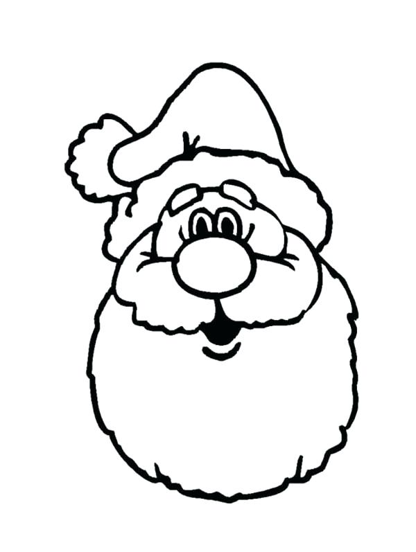 600x797 Santa Coloring Pages Online A Classic Ho Ho Ho Laugh Of Coloring