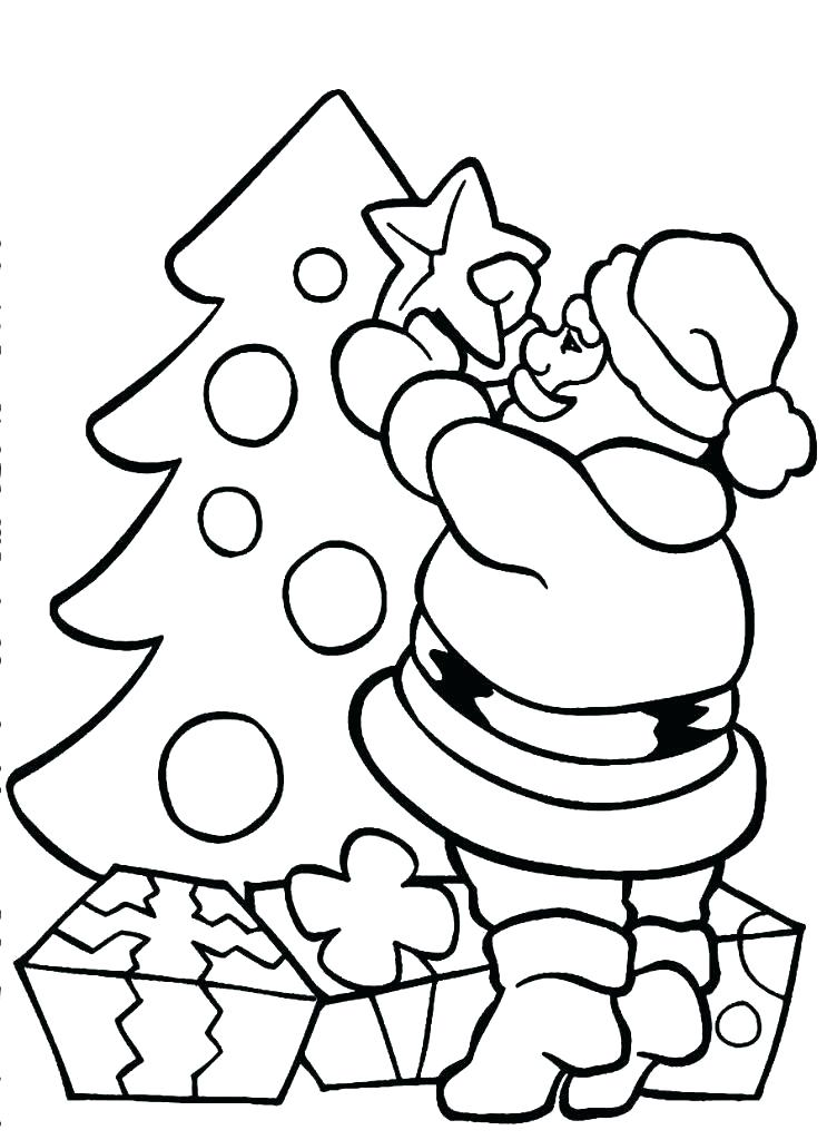 743x1024 Santa Claus Printable Coloring Pages Santa Claus Colouring Pages