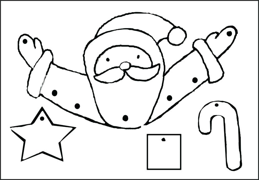 830x577 Santa Claus Face Coloring Pages Patterns Printable Fresh