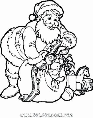 316x400 Coloriage Santa A Santa Coloring Book Nakupovanifo Santa Claus