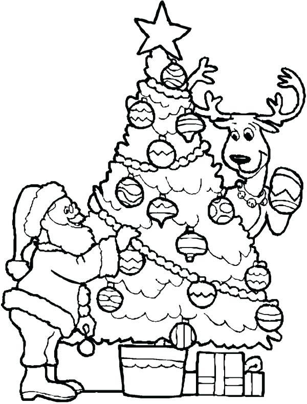 600x790 Santa Coloring Pages Printable And Christmas Sheets Free