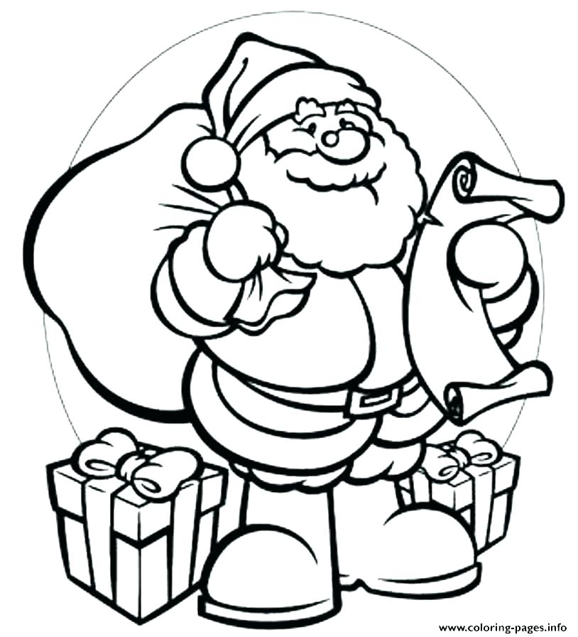 814x896 Santa Coloring Pages Star Coloring Page Xmas Coloring Pages Pdf