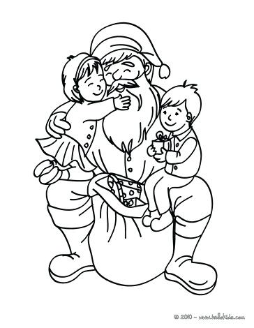 364x470 Coloring Page Santa Sleigh Coloring Page Printable Coloring Pages