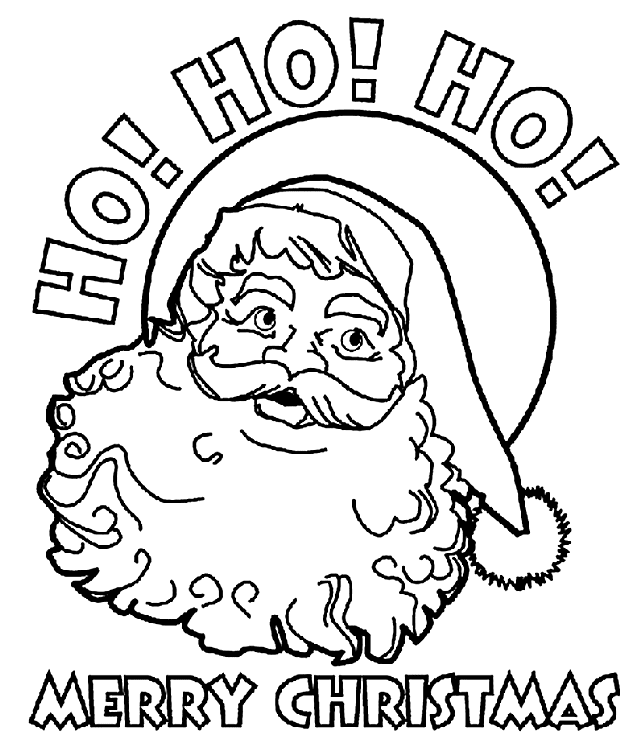 640x754 Coloring Pages Of Santa Free Santa Coloring Pages For The Kids