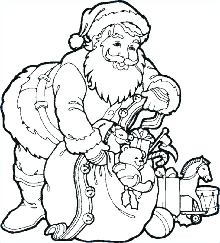 728x802 Xmas Coloring Pages