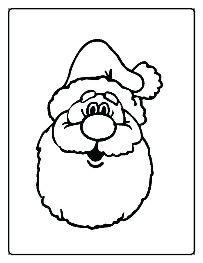 698x903 Father Also Father Face Colouring Quotes Santa Face Coloring Page