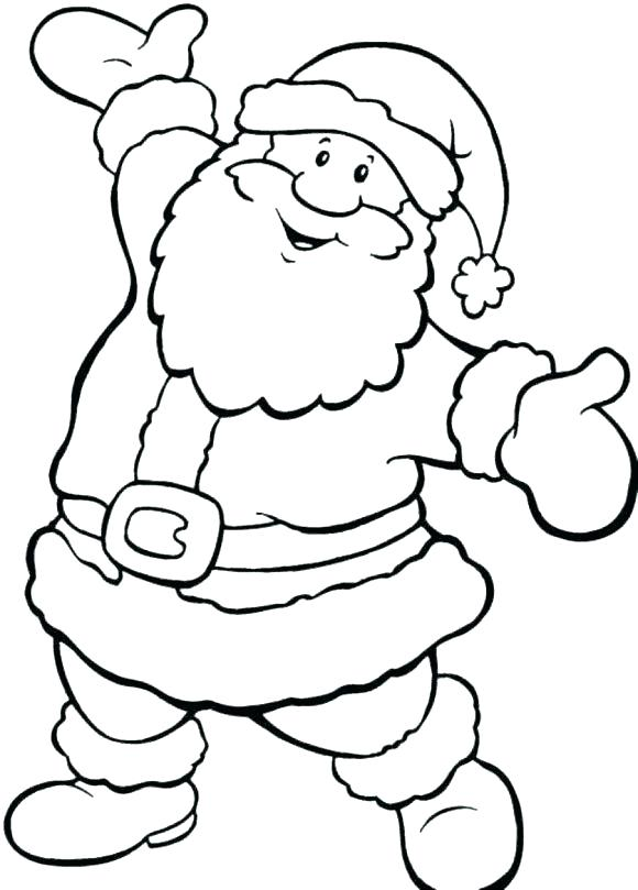 580x809 Free Santa Hat Coloring Page With Hippie Book