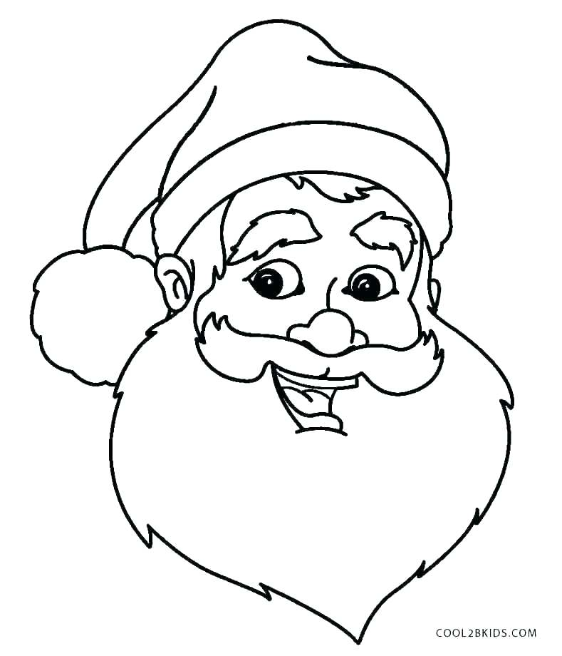 789x920 Santa Hat Coloring Page Coloring Pages Coloring Page Free Coloring