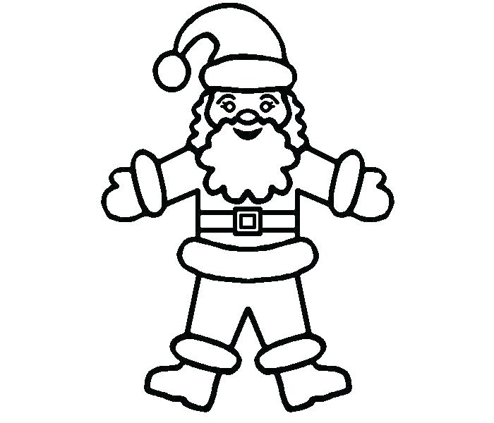 700x600 Santa Hat Coloring Page Hat Coloring Pages Hat Coloring Page