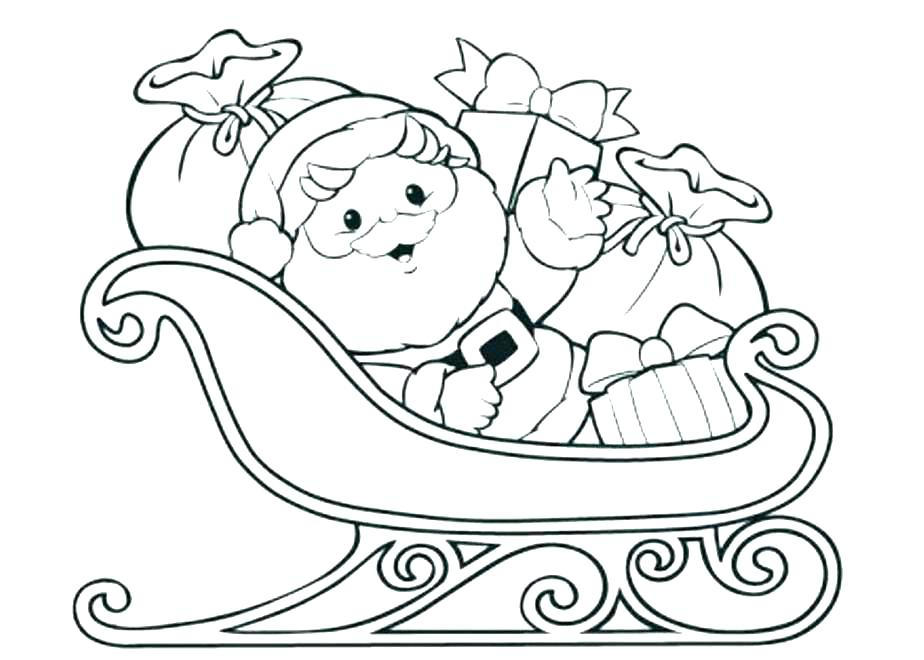 924x660 Santa Hat Coloring Page Tree Coloring Hat Pages For Kids Christmas