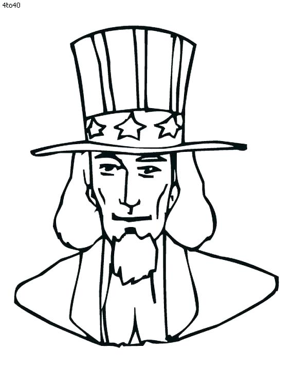 570x711 Santa Hat Coloring Pages Idea Hat Coloring Page And Uncle Coloring