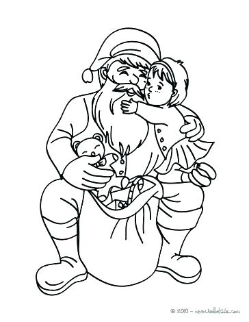 364x470 Santa Sleigh Coloring Page Sleigh Coloring Page In A Sleigh