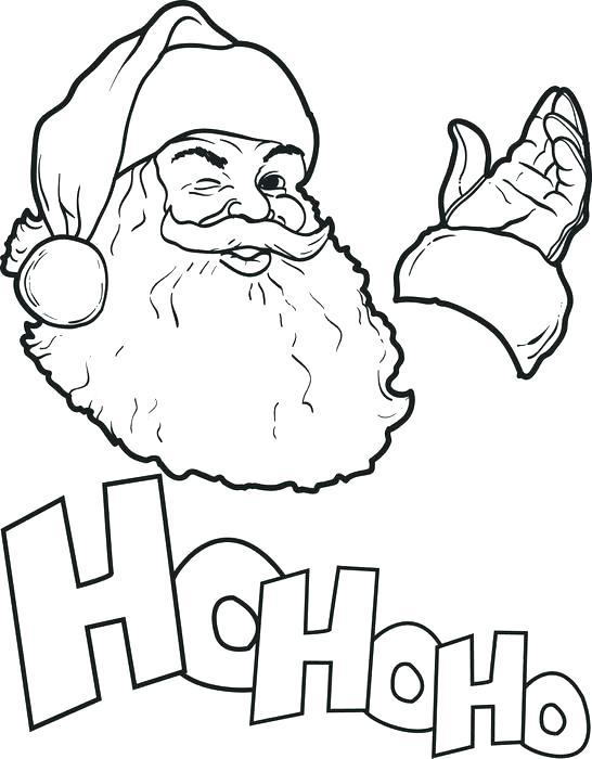 546x700 Santa Claus Coloring Sheets