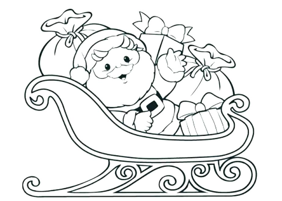 924x660 Free Printable Santa Sleigh Coloring Pages Kids Coloring Sleigh
