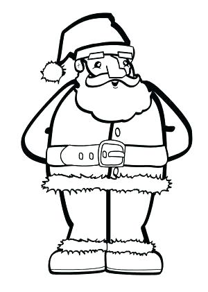 300x421 Santa Sleigh Coloring Pages Free Coloring Pages For The Kids Hello