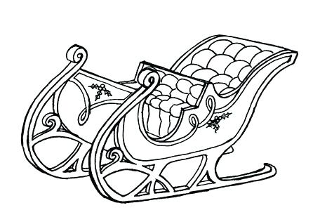 456x299 Sleigh Coloring Page Sleigh Coloring Page Sleigh Coloring Page