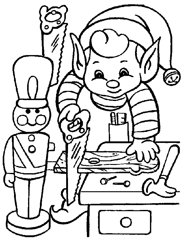 597x781 Christmas Coloring Pages Elves, Free And Celebrating Christmas