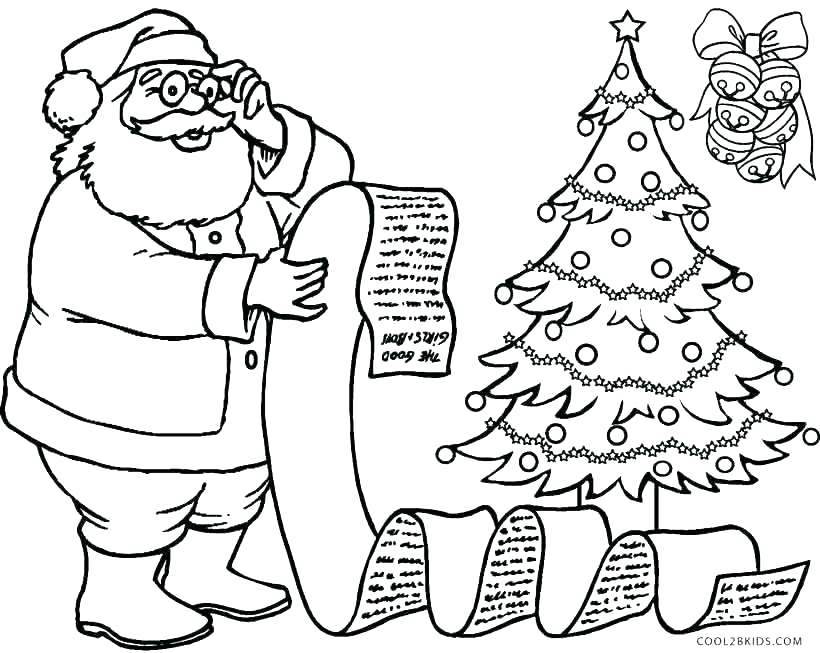 820x653 Coloring Page Santa Coloring Pages Of This Is Coloring Page Images