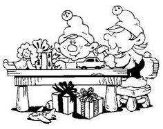 236x188 Santa's Workshop Coloring Page Coloring! Santas