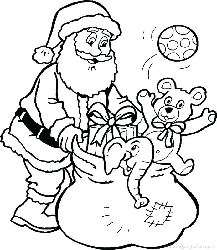 693x800 Santa Color Pages Color Pages Coloring Page Coloring Pages Santa