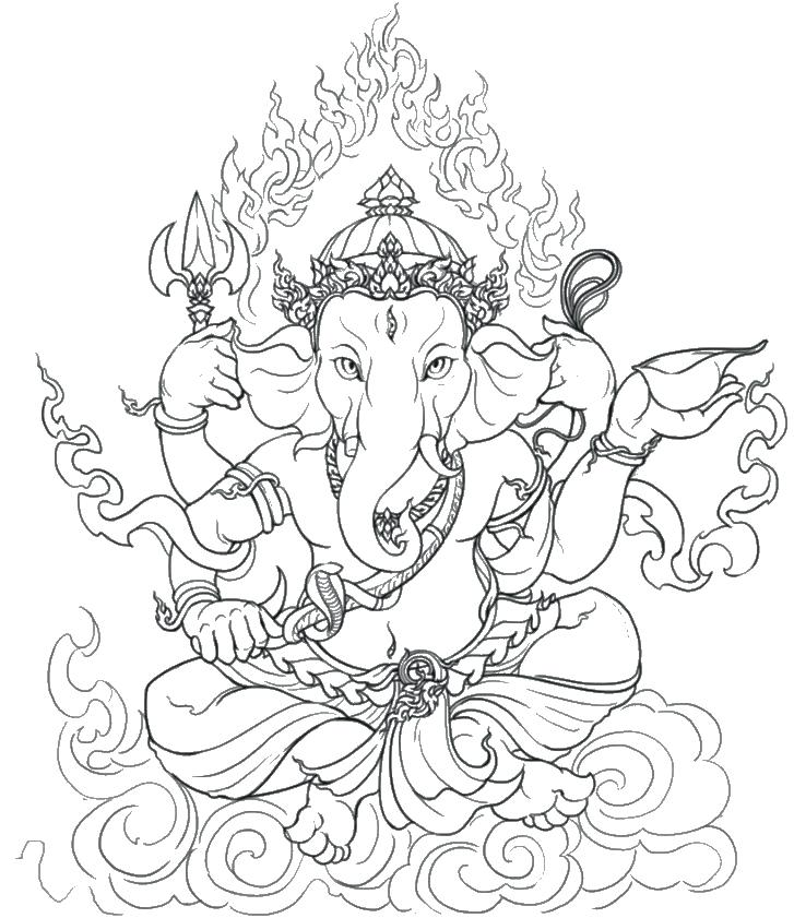 727x841 Saraswati Coloring Pages Good Coloring Pages Saraswati Colouring