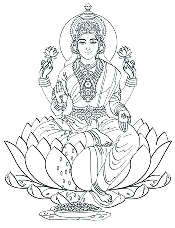 599x782 Goddess Saraswati Coloring Pages Coloring Pages Information