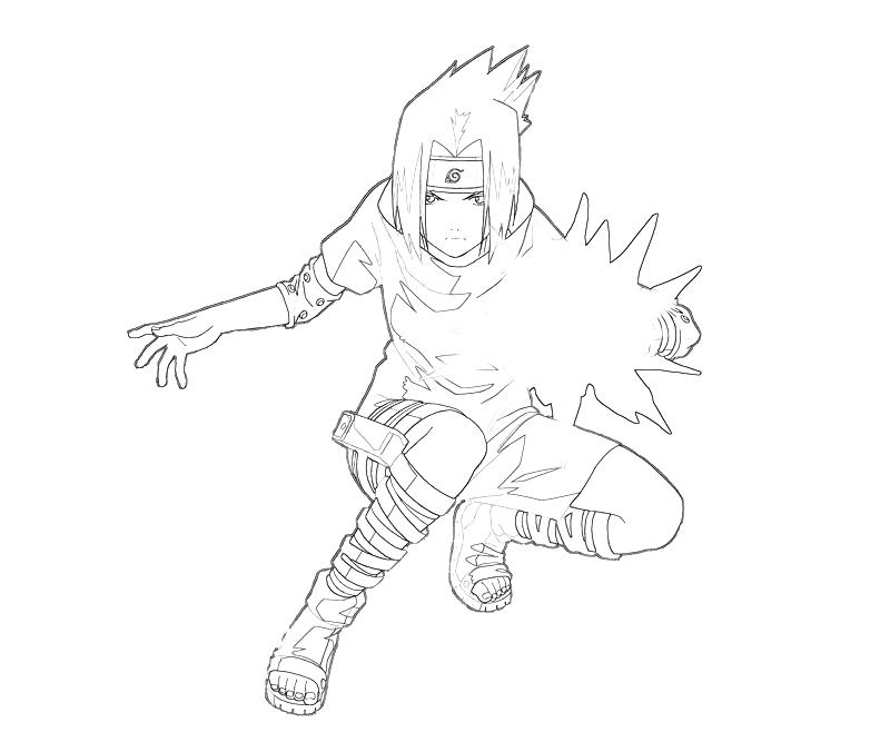Sasuke Coloring Pages at GetDrawings com | Free for personal