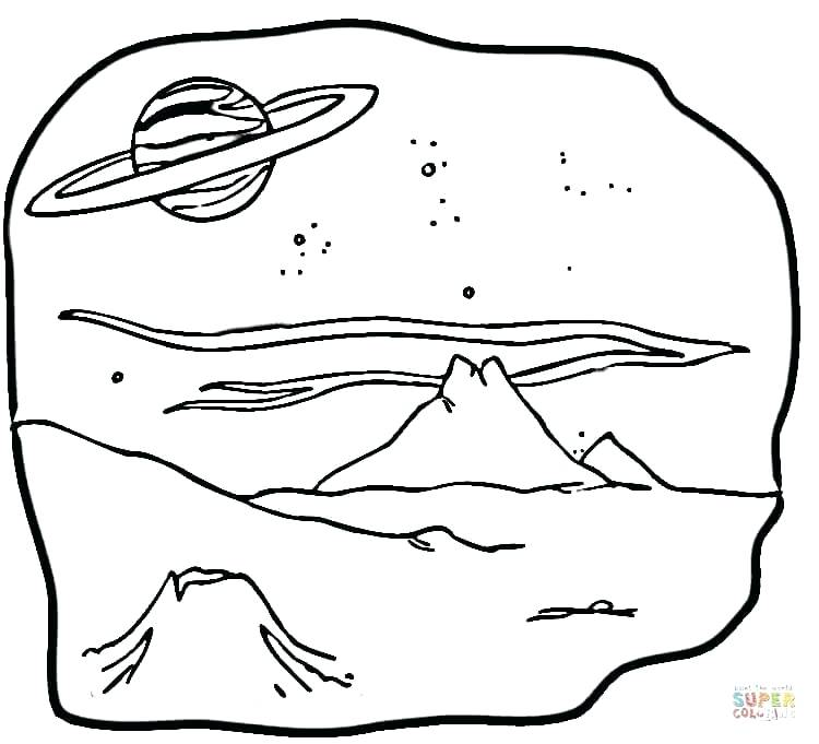 750x681 Saturn Coloring Page Coloring Pages Planet Coloring Pages Sailor