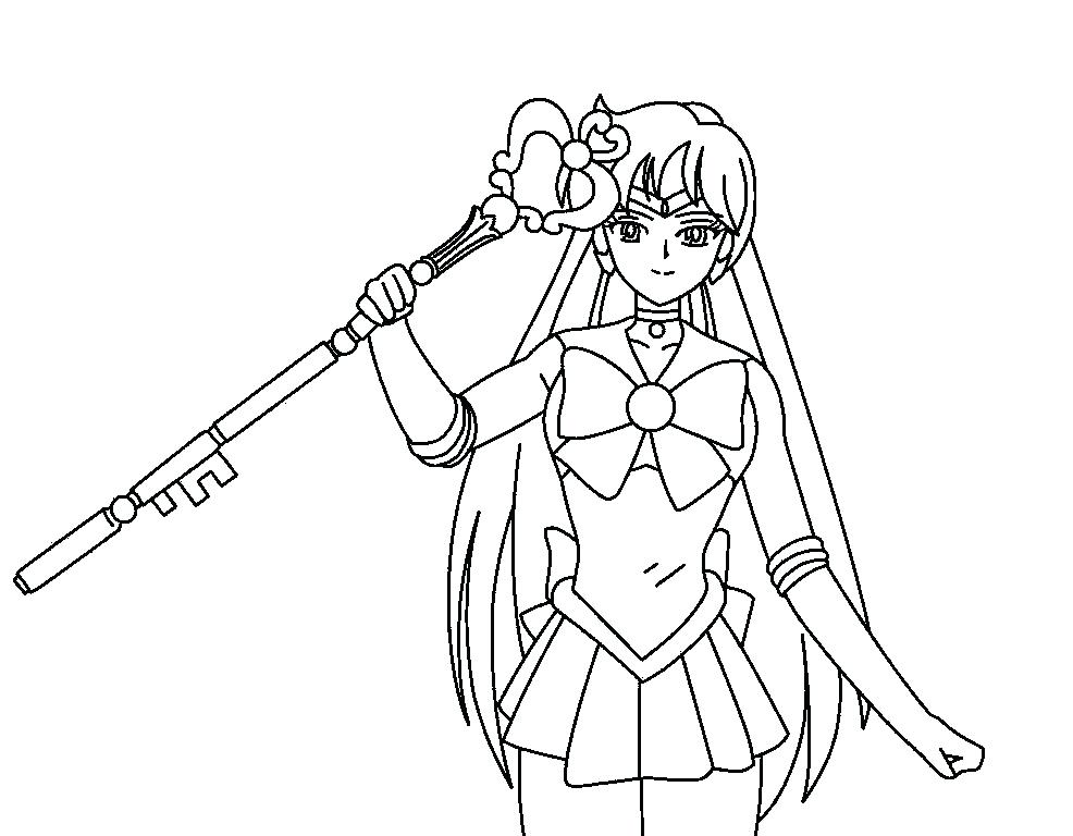 986x768 Saturn Coloring Pages Sailor Ng Pages Sailor Ng Pages Images