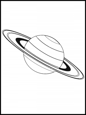 305x406 Saturn Coloring Sheet Printable Coloring Pages