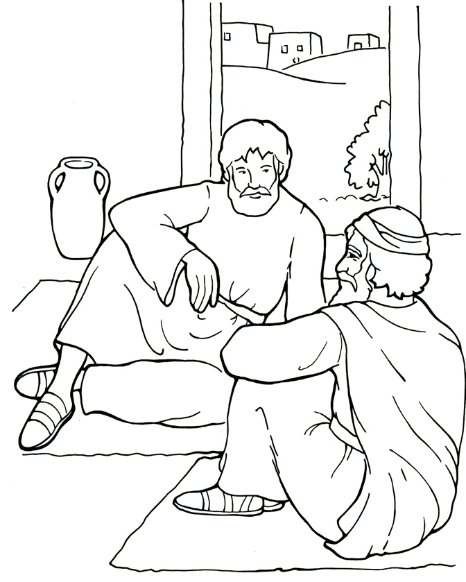The Best Free Ananias Coloring Page Images Download From 13 Free