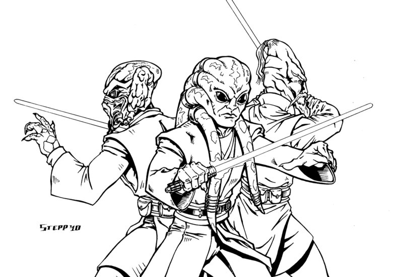 800x551 Kit Fisto Coloring Pages