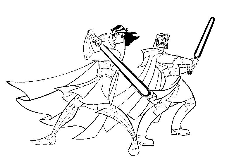 800x571 Kleurplaat Clone Wars Lineart Star Wars