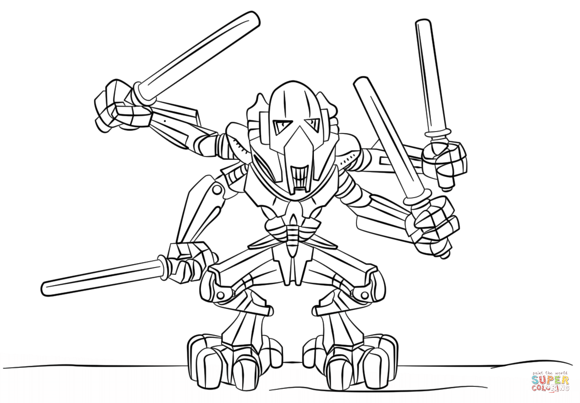 1186x824 Darth Maul Coloring Page
